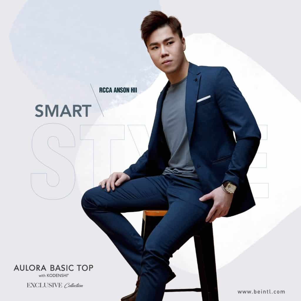 Aulora Basic Top Space Grey Color Collection